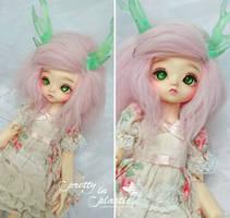 fluffy deer girl by prettyinplastic