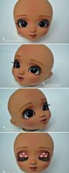 Face-Up Tan Pullip Mio Kit by prettyinplastic