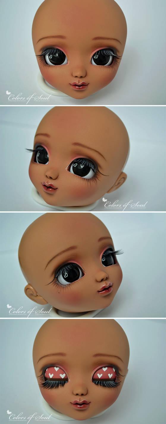 Face-Up Tan Pullip Mio Kit