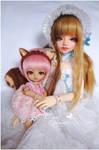 Risu-chan and Honey by prettyinplastic