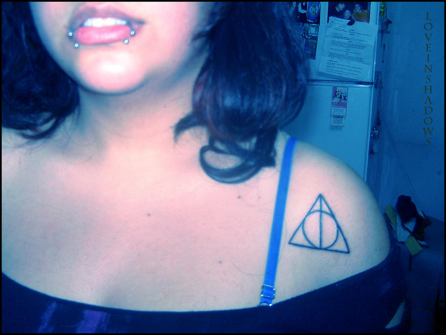 Harry Potter on my Skin by LoveInShadows