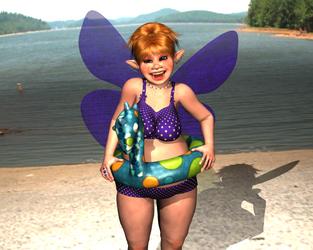 July Fairy by Maehem