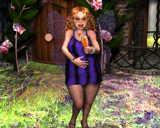 August Fairy by Maehem