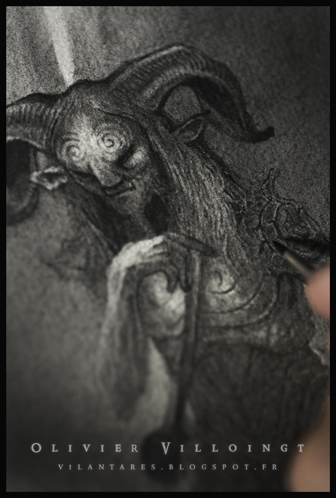Wip - Pan's Labyrinth by Olivier-Villoingt