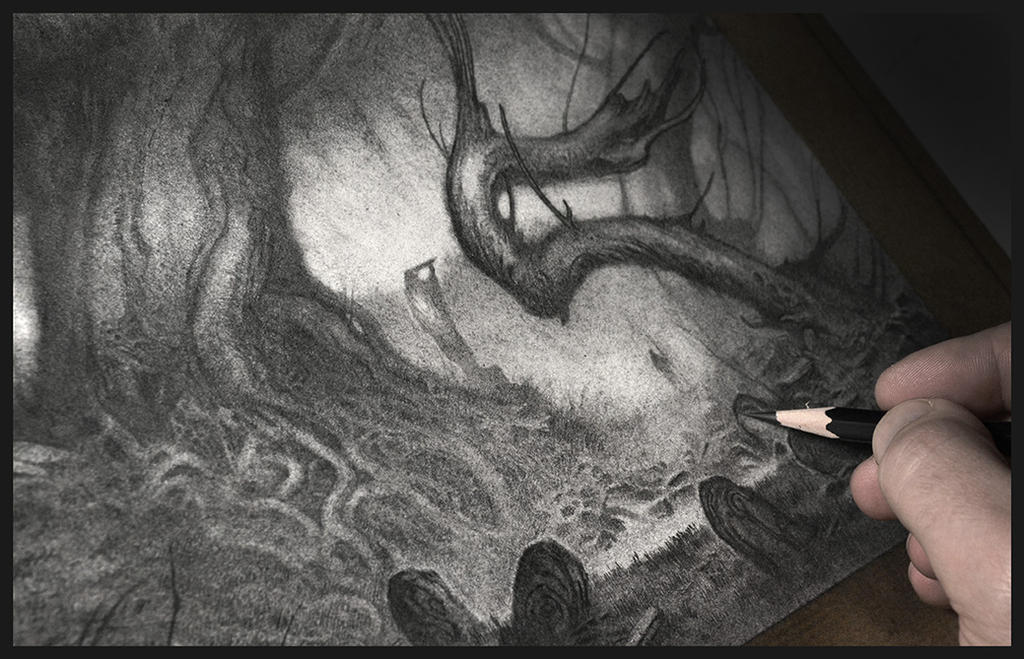 The Silent Grove - WiP by Olivier-Villoingt