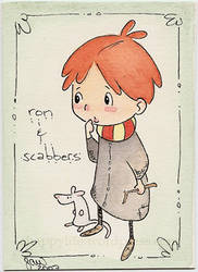 Ron and Scabbers by coyohti