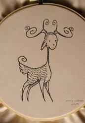 Embroidery - Deer