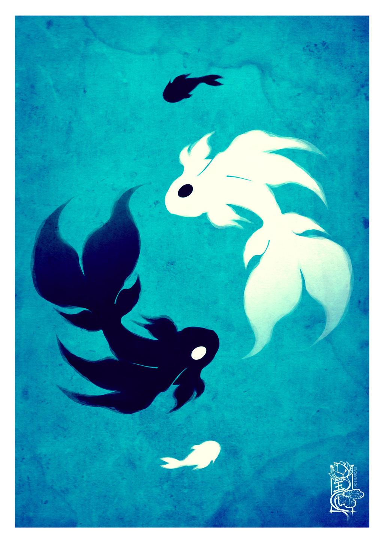 Ying and Yang - Blue version