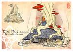 Broceliande - The Hut Exterior - Beneath the Tree
