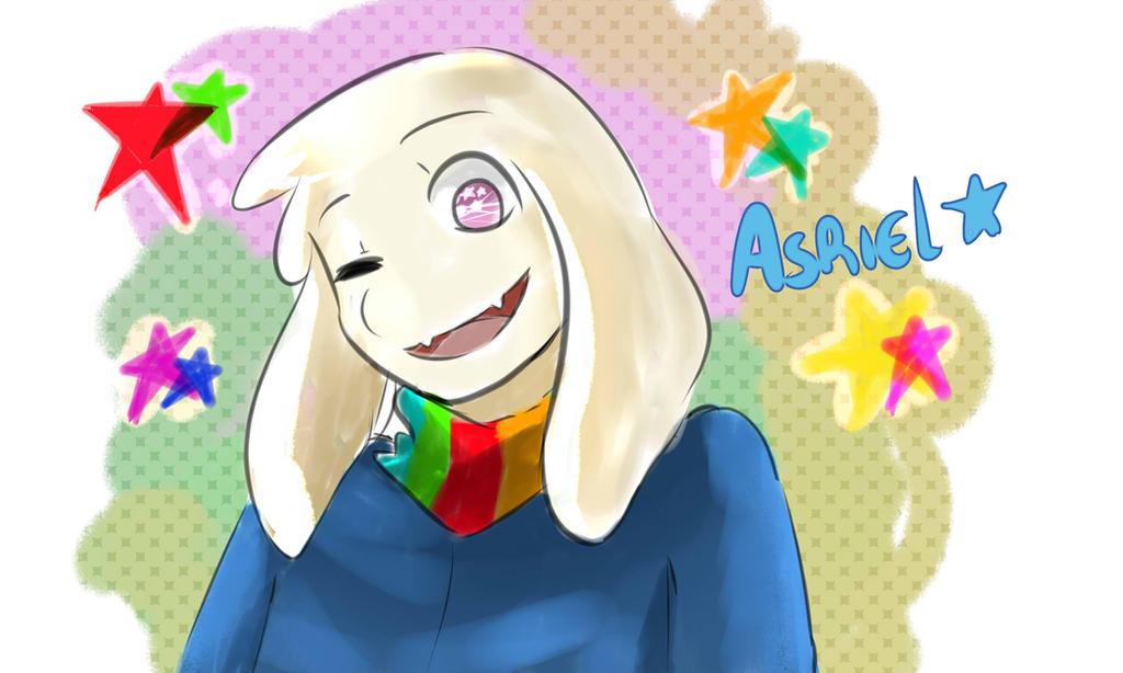 Asriel by YumekoxRochu