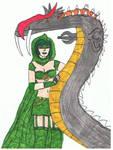 Serpent Queen and MegaBasilisk