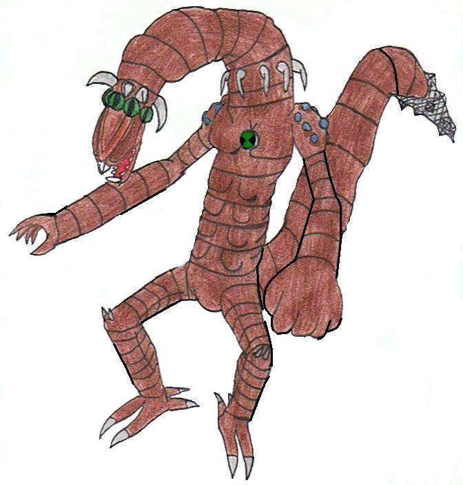 Ben 10-Weird Worm by siborg626