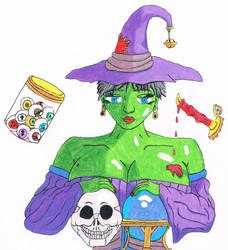Hotlloween-Day 10-Luscious Witch