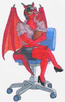 Hotlloween-Day 11-Persuasive Boss Dragon