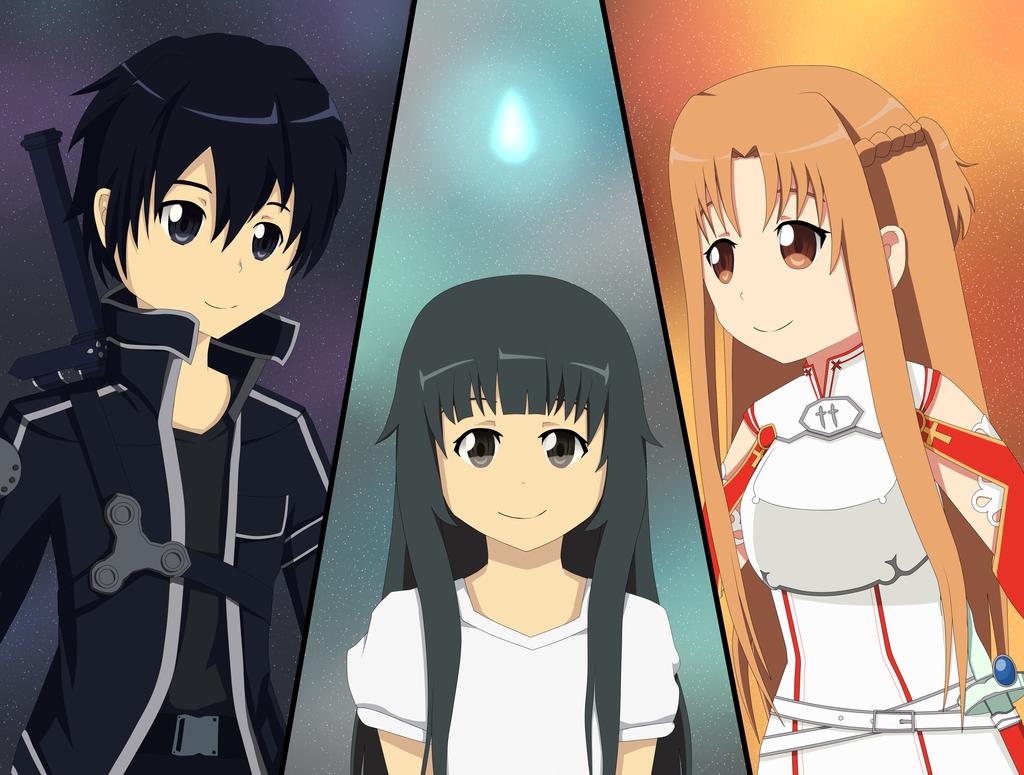 Sword Art Online by BlackberrySunshine