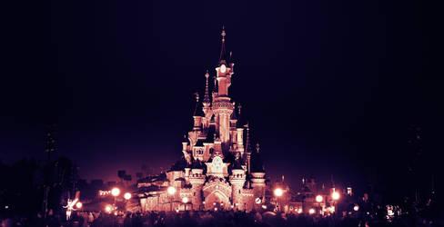 Sleeping Beauty Castle by Corvin0