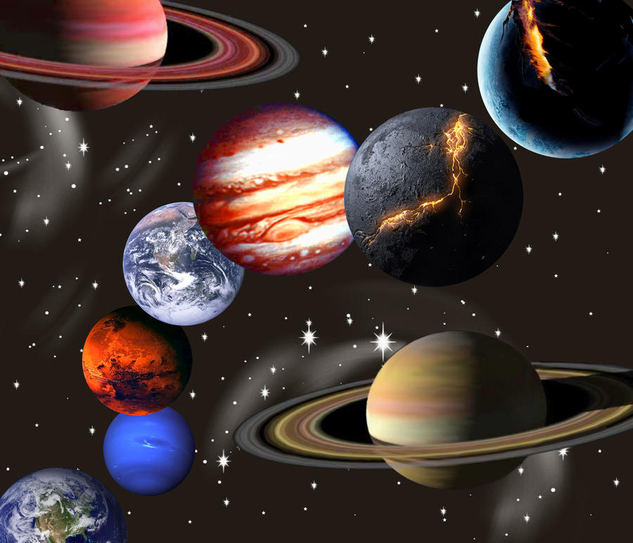 UNIVERSE OF PLANETS by  Universe Pictures With All Planets