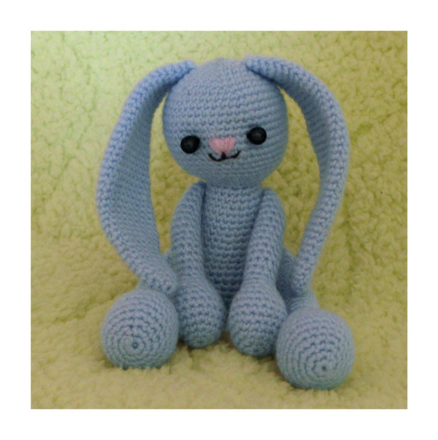 Bunny Amigurumi To Go : Bunny Amigurumi by CarolBarajas on DeviantArt