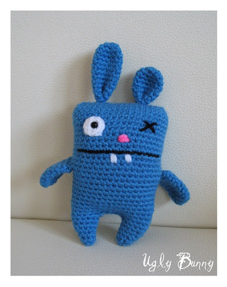 Ugly Bunny Amigurumi by CarolBarajas on DeviantArt