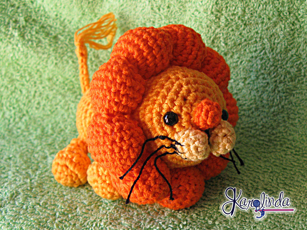 Lion King Amigurumi : Leon Amigurumi by CarolBarajas on DeviantArt