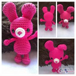 Bunny Amigurumi Crochet by CarolBarajas