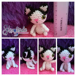 Kitty Amigurumi Crochet by CarolBarajas