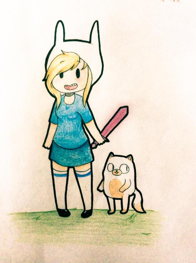 Fiona and Cake by awsomepop2