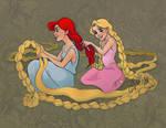 Rapunzel's PJ Party