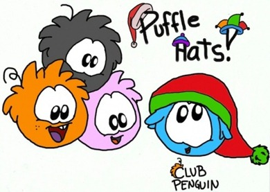 Club Penguin puffles by xysonickiller