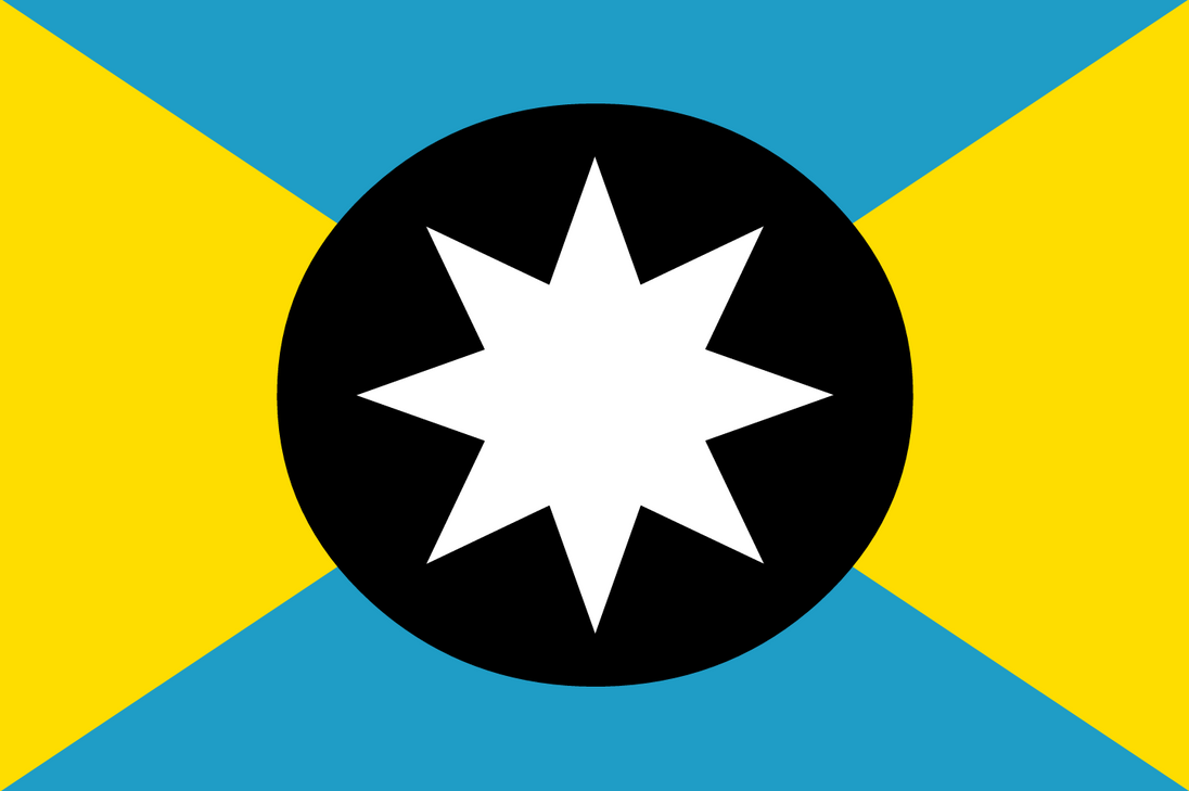 Flag of Zumetia 2.0 by velocistar127