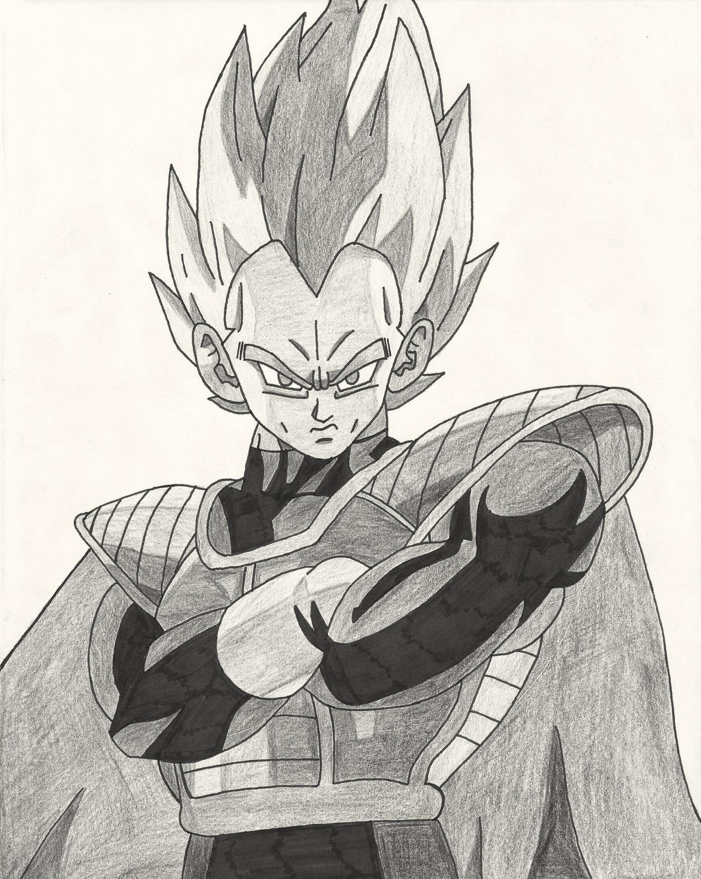 Fanart: Lord Vegeta (pencil) by bringerofdeathDBZ on ... - photo#18