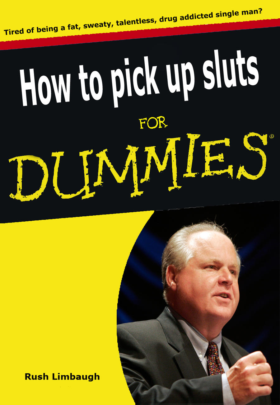 Rush limbaugh how to pick up sluts by breekbot on deviantart