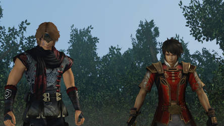 Min Shuo and Lu Xun| Dynasty Warriors by NeriHyuga