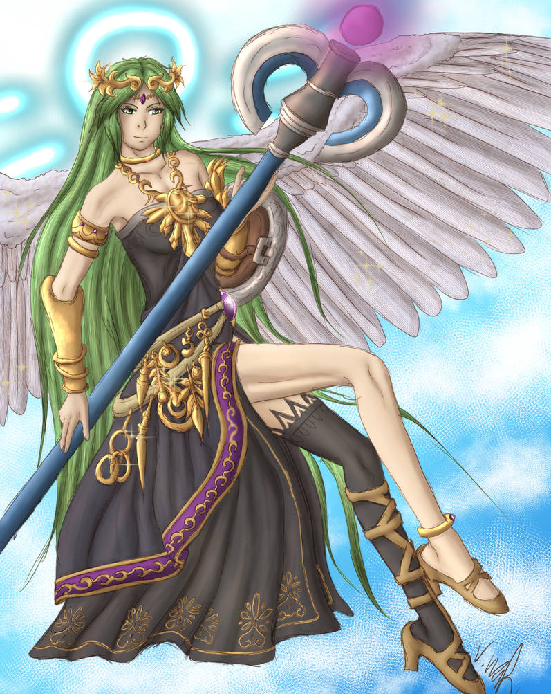 Palutena for HolyFistHD by NeriHyuga