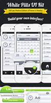 White Pills UI Kit Retina Edition