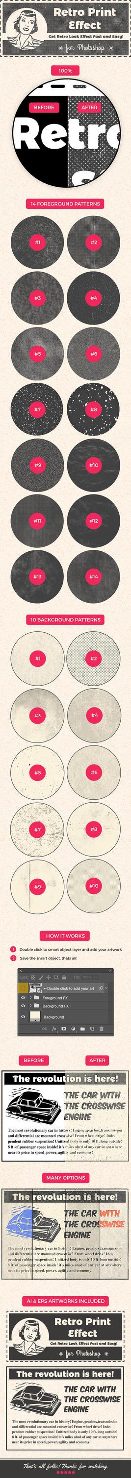 Retro Print Effect by ottoson