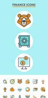 60 Finance Icons