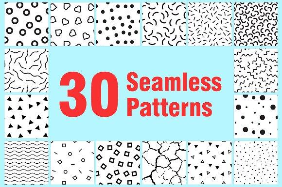 30 Seamless Patterns by ottoson