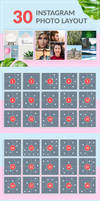 30 Instagram Photo Layout