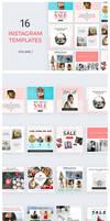 16 Instagram Templates vol.1