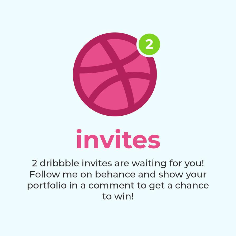 Dribbble invites by ottoson