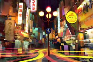 Japan Street by SimonBoxer
