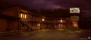 Background - Dodgy motel