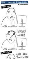 What I imagine Skyrim is like