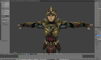 Link wearing the Magic Armor ( TP - in progress)