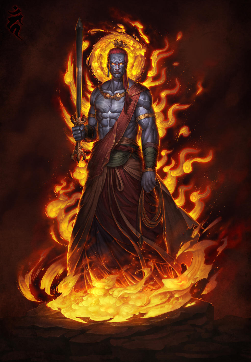 fudo_myoo_the_demons_slayer_by_sgt_lonel