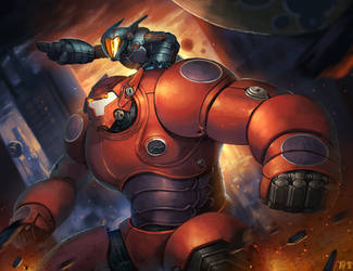 Baymax by Sgt-lonely