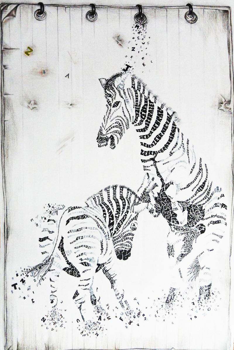 zebra by anubhabansal