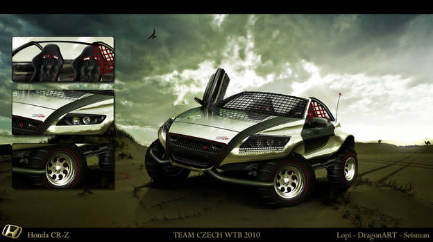 Honda CR-Z WTB TEAM CZ