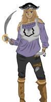 Komachi Gouken - pirate style